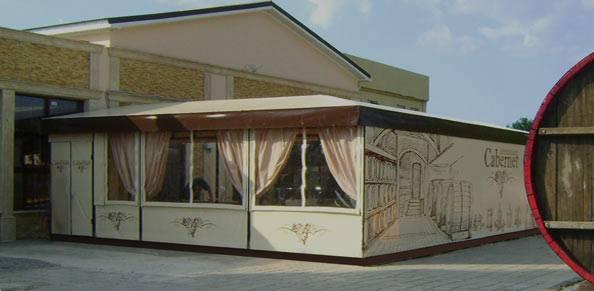 Летние кафе Палатки